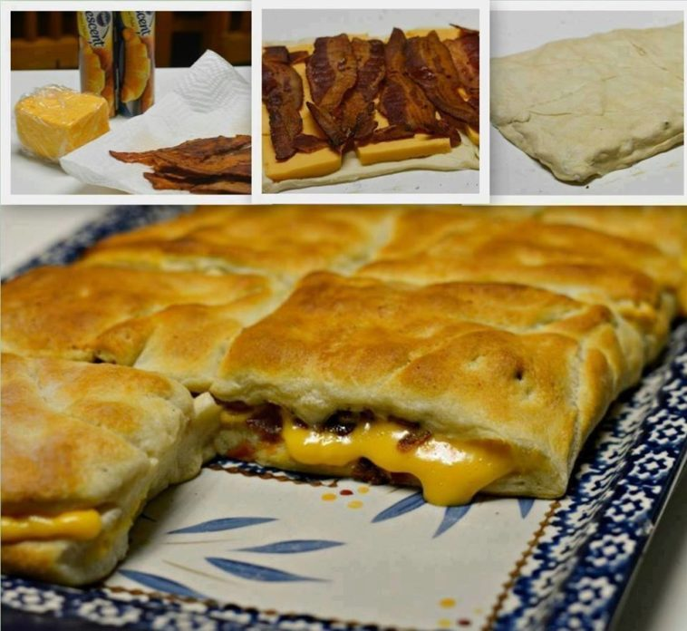 Stuffed Bacon and Cheese Biscuits!
